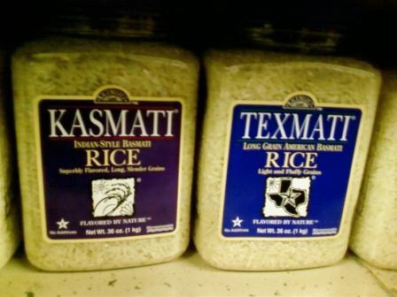 Basmati's Got Company