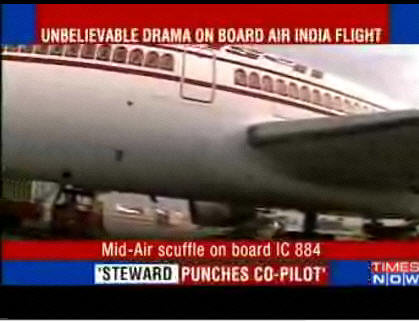 Royal Rumble in the Skies. Air India Style.