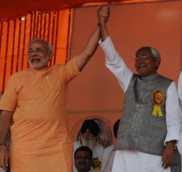 Nitish vs Modi. Round 1.